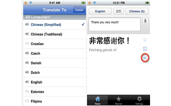 gt21 È uscito Google Translate per iOS