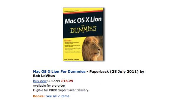 lion Mac OS X Lion dovrebbe uscire a fine luglio