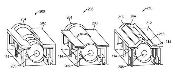Apple patens small audio jacks Apple progetta nuovi ingressi jack audio per i futuri, sottilissimi iPod