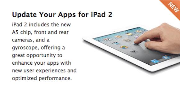 Screen shot 2011 03 07 at 3.05.03 PM Apple chiede agli sviluppatori di aggiornare le loro applicazioni per iPad 2