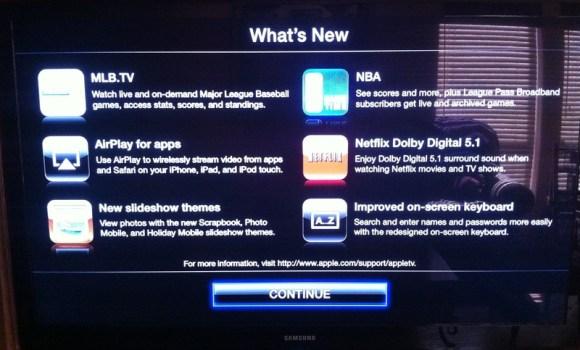 pastebot20110309114824a 580x350 Piccolo aggiornamento anche per Apple TV