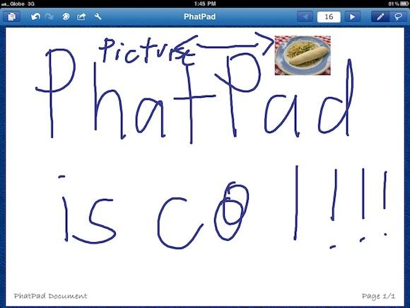 phatpad 3 PhatPad per iPad: memorizzare note e figure attraverso il riconoscimento della scrittura