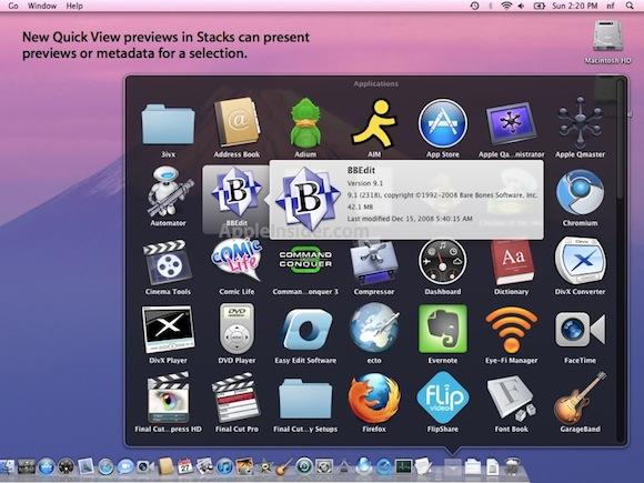 quickview022711.002 Mac OS X Lion: Spotlight e Quick View rendono le ricerche più facili e veloci