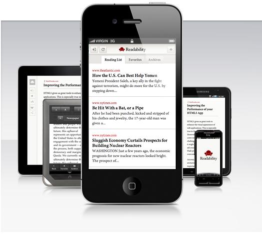 %name Readability diventa una Web app totalmente compatibile con iOS