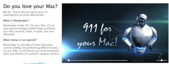 0 Problemi con il Mac? Chiamate il 113 e MacKeeper vi soccorrerà
