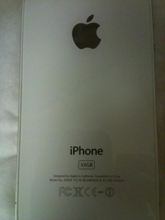 IMG 6205 530x706 Il prototipo di un iPhone 4 bianco viene messo in vendita su eBay