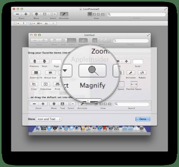 LionPreview0.5 Mac OS X Lion: tutte le potenzialità del nuovo Anteprima