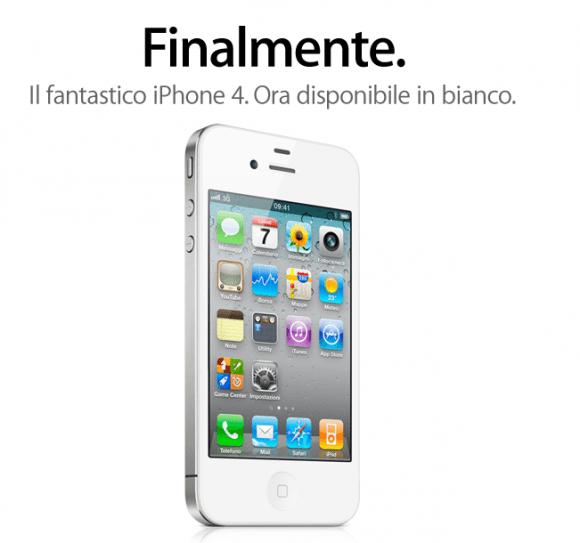 Schermata 2011 04 28 a 12.56.23 580x543 Da oggi è possibile acquistare liPhone 4 bianco