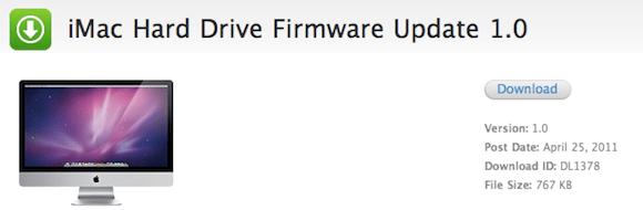 Screen shot 2011 04 25 at 11.16.28 PM Novità per la gamma iMac: rilasciato un aggiornamento firmware e probabile a breve un aggiornamento della linea