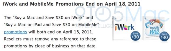 iwork Apple dice stop ai rimborsi su MobileMe e iWork. Aggiornamenti in vista?