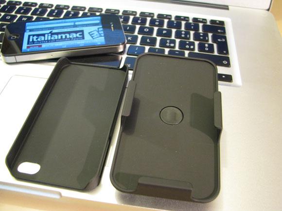 007 Puro, custodia multiuso 3 in 1 per iPhone 4