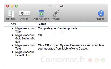 200327 castle Castle: questo il nuovo nome di MobileMe in Mac OS X Lion?