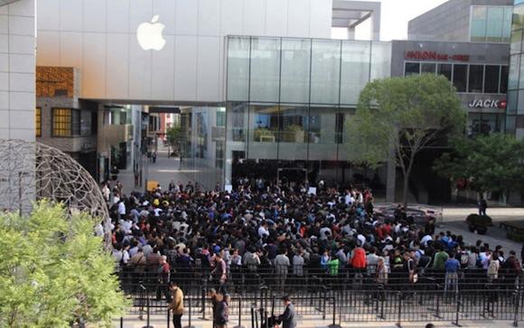 CHINAMAIN Tutto esaurito in sole 4 ore. L'iPad 2 arriva a Pechino!