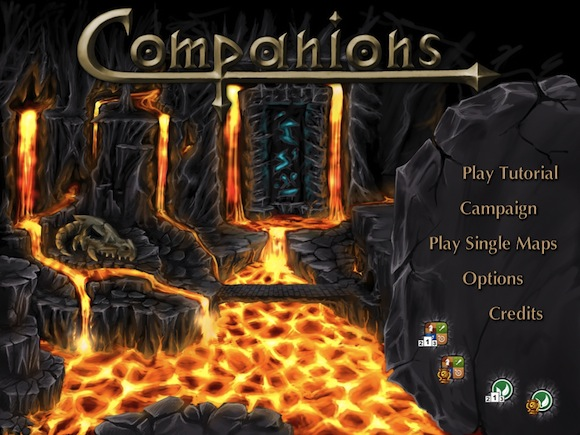 COMP1 Companions per iPad. Un gioco di strategia e tattica