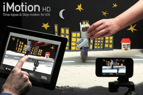 ImotionMAIN iMOTION HD. Trasforma in video i tuoi scatti sequenziali