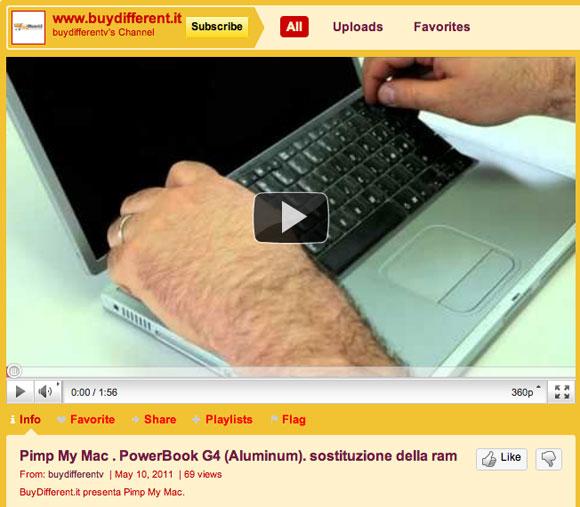 bdtv BuyDifferenteTV, video tutorial e trucchi per aggiornare i Mac