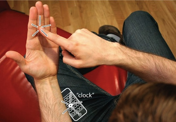imaginary1 Hai mai immaginato un iPhone invisibile sul palmo della mano?