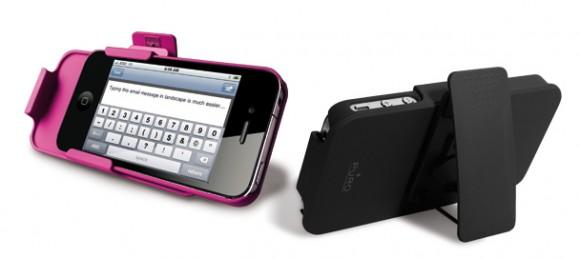 r 3x1iphone4 medium 580x259 Puro, custodia multiuso 3 in 1 per iPhone 4