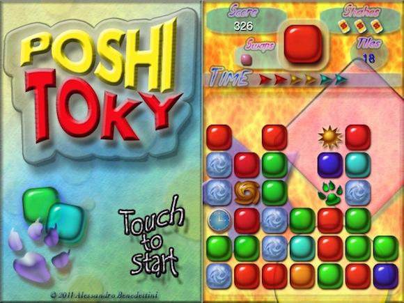 Poshi Toky Poshi Toky: il coinvolgente puzzle game per iPhone e iPad