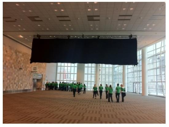 Schermata 2011 06 06 a 17.50.09 Cosa nasconderà il telo nero posizionato sul grosso cartellone presente nel Moscone Center?