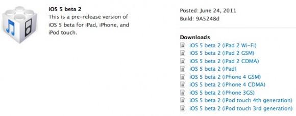 Schermata 2011 06 25 a 00.09.21 580x228 Apple pubblica iOS 5.0 beta 2 per gli sviluppatori