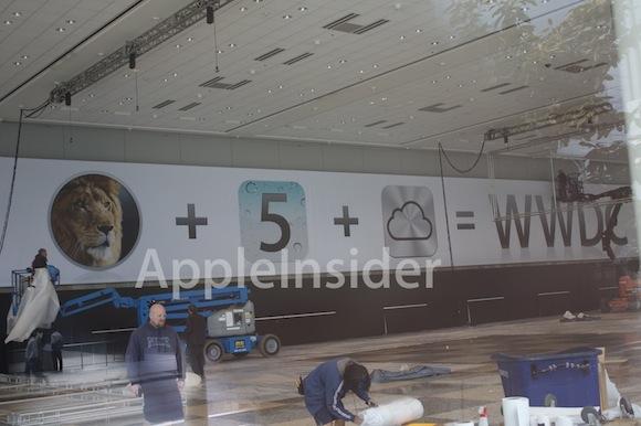 WWDC2011pics4 Svelata al Moscone Center licona di iCloud