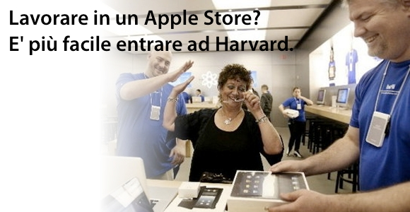 apple store lavorare1 Lavorare per Apple: difficile entrare e far carriera.