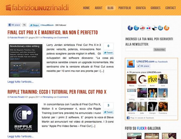 fabriziorinaldi Conosciamo Fabrizio Rinaldi, ideatore di un blog su Final Cut
