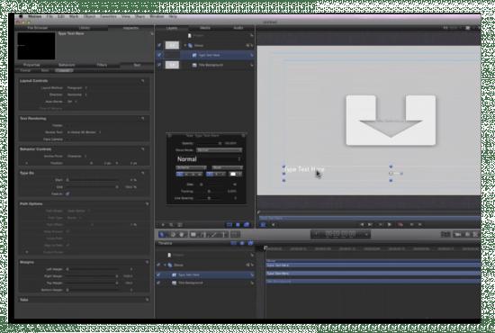 motion 03 550x370 Final Cut Pro X: Disponibile per il download nel Mac App Store
