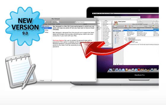 Schermata 07 2455758 alle 20.34.38 Notepad: il software più semplice per creare e organizzare le tue note con Mac
