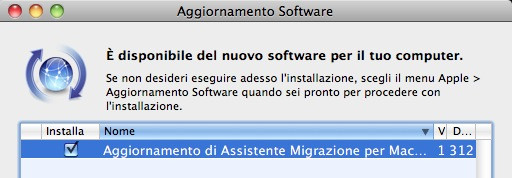 aggiornamento migrazione E ufficiale: Mac OS X Lion verrà rilasciato oggi