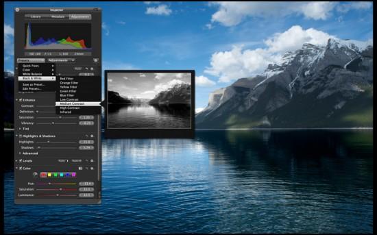 aperture mac 550x343 Aperture 3.1.3 viene aggiornato con piccole migliorie