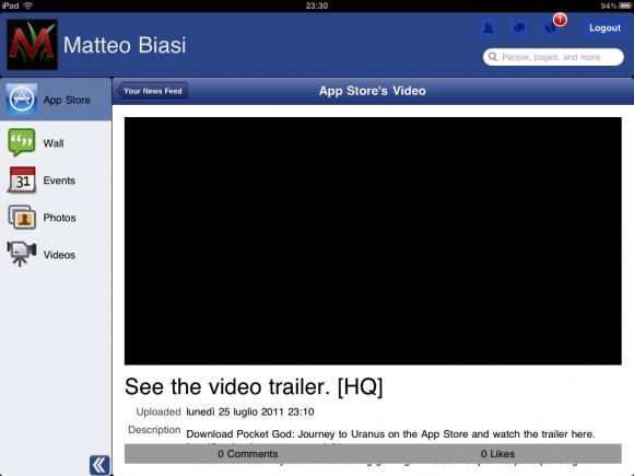 foto copia 31 580x435 Segui gli aggiornamenti di Facebook su iPad con Facemobile
