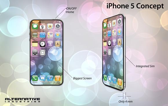 iphone5conceptbyalternative Un altro concept per liPhone 5