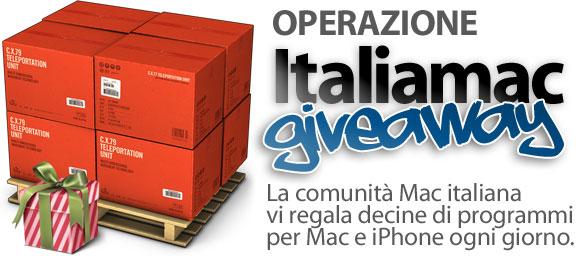 italiamacgiveaway Sono già centinaia le App regalate da Italiamac
