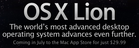 os x lion advances even further Probabile lancio di Lion OS X per la prossima settimana