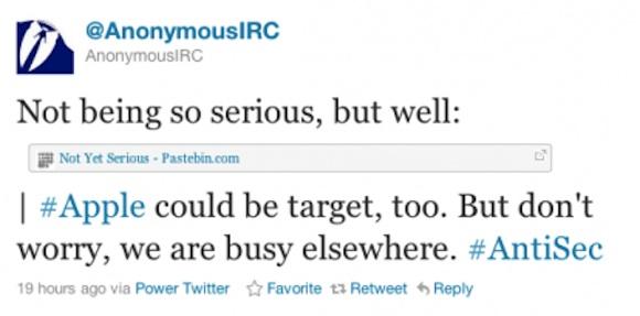screen shot 2011 07 03 at 10 55 10 pm 414x205 Gli Anonymous attaccano Apple