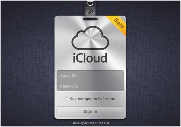 142001 apple icloud beta 580x408 Apple rilascia iCloud Beta 8 per gli sviluppatori