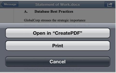 CapturFiles 21 Adobe rilascia CreatePDF per gestire i PDF con iOS