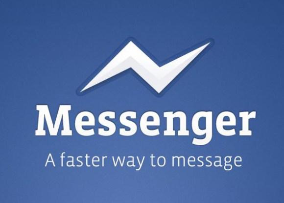 messenger 580x415 Facebook rilascia una nuova applicazione ufficiale per inviare messaggi