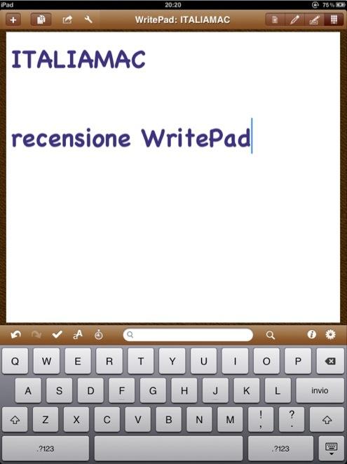 CapturFiles7 WritePad Italiano: unapplicazione per il riconoscimento avanzato della scrittura
