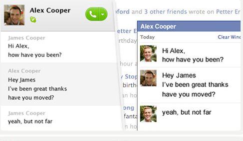 Immagine 1 Skype 5.4 beta per Mac OS X si aggiorna con lintegrazione di Facebook