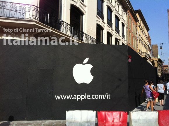 applestore italiamac bo 1 580x433 Anteprima Apple Store Bologna, le foto di Italiamac