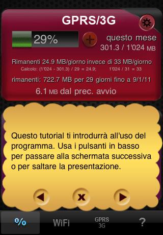 dm011 Recensione: Tieni docchio il tuo traffico dati con Download Meter per iPhone e iPad