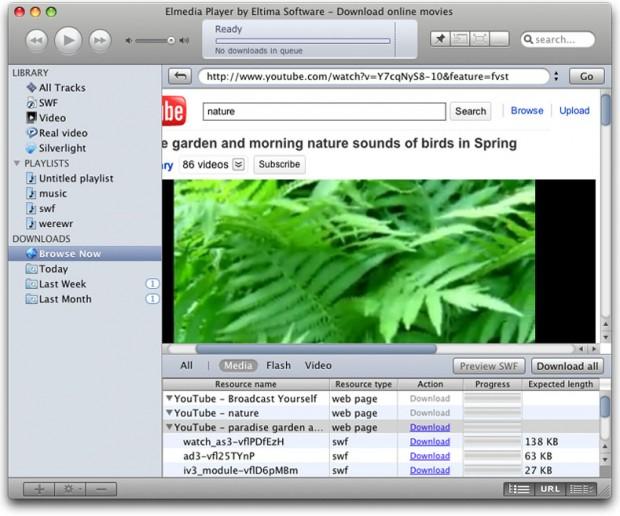 elmedia player 1 620x516 Elmedia Player, gestisci e riproduci i tuoi video in stile iTunes