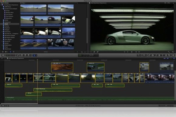 finalcutpro x 580x387 Apple rilascia un Major Update per Final Cut Pro X