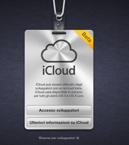 icloud italiano 414x465 iCloud è finalmente disponibile anche in italiano