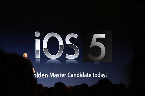 ios5 betaù1 Rumors sulluscita della GM di iOS 5