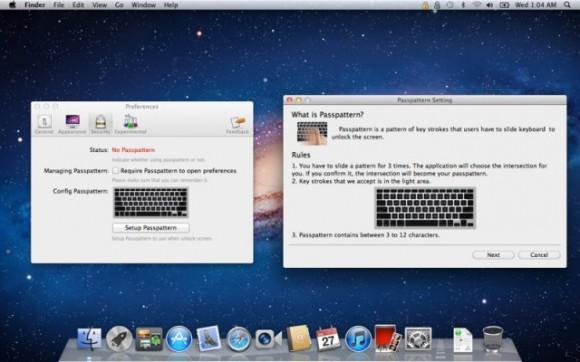 mzl.bctnlmjr e1316487646436 580x362 Lock screen 2 : una simpatica applicazione per inserire lo Slide to unlock nei vostri Mac come su un dispositivo iOS