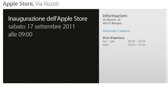 store bologna 580x299 17 Settembre ore 9: Apre Apple Store Bologna
